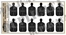 Diorama/Model Accessory - 1/35 Silhouette Style Targets #1
