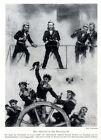 Österreichs Admiral Frhr.v.Tegetthoff in der Seeschlacht von Lissa (1866) c.1943