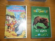 Walt Disney VHS Video Meisterwerke Sammlerstück Das Dschungelbuch original