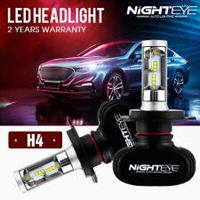 NIGHTEYE H4 50W LED Headlight Kit Light Bulbs Replace Xenon Halogen 6500K White