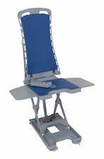 Drive Medical Whisper Ultra Quiet Bath Lift, Blue Mobile Bath Seat