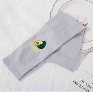 Avocado Women Sun UV Protection Ice Silk sleeve Cooling Sleeves Arm Sleeves