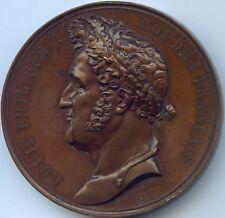 LOUIS-PHILIPPE I VISITE DE LA REINE VICTORIA MEDAILLE 1843