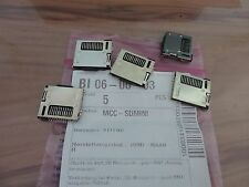 5 x MiniSD Card Sockel - SMD - Push-Push