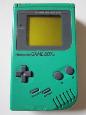Nintendo GameBoy console handheld Green Frog Verde Play It Loud Edition