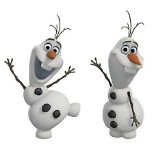 Disney OLAF SNOWMAN Frozen Wall Decals Room Decor Stickers Snow Man Decorations