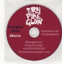 (BK636) Turnpike Glow, Marie - DJ CD