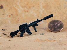 GI Joe 1:18 Action Figure 3.75 US Army Military M4 Carbine RIFLE Silencer G19_W
