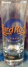 "Hard Rock Cafe TORONTO 4"" SHOT GLASS Cordial Pre-Unification HRC Logo BANAWE"