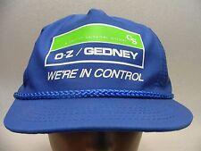 O-Z GEDNEY - GENERAL SIGNAL - ADJUSTABLE SNAPBACK BALL CAP HAT!