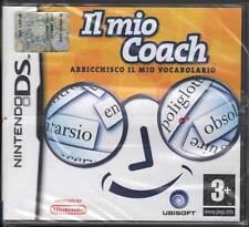 Il MIo Coach Arricchisco Il Mio Vocabolario Videogioco Nintendo DS NDS Nuovo Sig