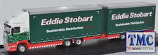 76DBU003 Oxford Diecast 1:76 Scale OO Gauge Scania Topline Drawbar Eddie Stobart
