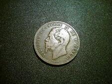 1867 OM Italia 10 Centesimi Coin. BELLA Grade