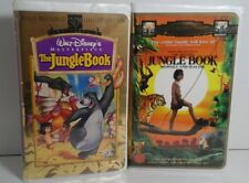 The Jungle Book VHS, Lot of 2