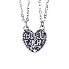 Collana per coppia BEST FRIENDS Migliori amici 2 Ciondolo Partner Amicizia