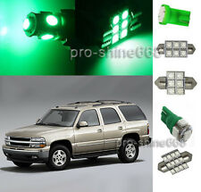 Green SMD LED Interior 12PCS Lights Package for Chevrolet Chevy Tahoe 2000 2006