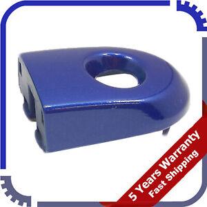 For 07-12 Nissan Versa Front Door Outer Handle Key Bezel Cover Escutcheon Blue