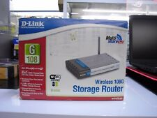 Brand New D-link Airplus Extreme G 802.11G Wireless Storage Router DI624S
