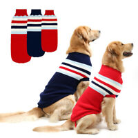 Dog Sweater for Large Dogs Winter Warm Dog Clothes Pet Jacket Coat for Labrador