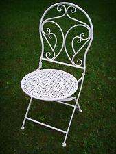 Gartenstuhl Klappstuhl Stuhl Stühle Metallstuhl Kaffeehausstuhl Vintage shabby