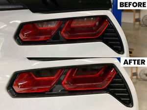 2014 - 2019 Chevrolet Corvette C7 Stingray Reverse and Turn Signal Smoke Overlay