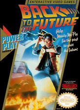 Back to the Future Nintendo NES Framed Print (Picture Poster Gaming Art Mario)