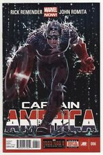 CAPTAIN AMERICA #6,7,8,9,10 Marvel Comics Rick Remender CASTAWAY IN DIMENSION Z