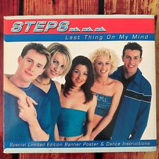 Steps - Last Thing On My Mind Limited Edition Maxi CD Single 4 Tracks 1998