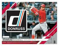 2019 Donruss Holo Pink Baseball Parallel Cards Pick From List (Includes Rookies)