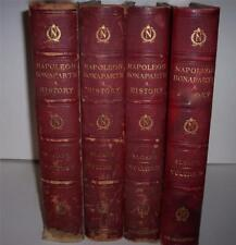 "New listing ""Life Of Napoleon Bonaparte"" William Milligan Slone Century 1896 Color Pics"