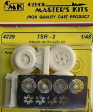 CMK 1/48 TSR-2 Set ruote per Airfix # 4229