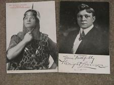 "Mr. Wright Lorimar, as David in The""Shepherd King"" + Photo Postcard  Auto Signed"