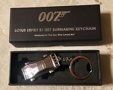 NEW 007 JAMES BOND LOTUS ESPRIT S1 SUBMARINE KEYRING - FREE FAST SHIPPING