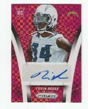 TEVIN REESE 2014 PRIZM RED POWER PRIZMS RC AUTO ROOKIE AUTOGRAPH /35 CHARGERS