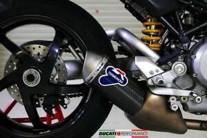 TERMINALE SCARICO BASSO CARBONIO RACING TERMIGNONI DUCATI MONSTER S4R 2004 04