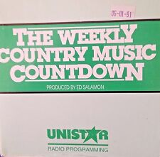 Radio Show: WEEKLY COUNTRY COUNTDOWN 6/1/91 ALABAMA TRIBUTE, GARTH BROOKS, JUDDS
