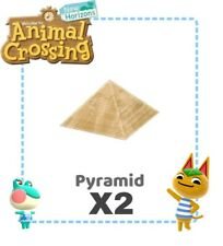 Animal crossing new horizons Statua Pyramid piramde gulliver X 2