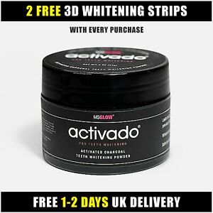 ACTIVADO® Powder Teeth Brightening Whitening Smiles Best Activated Tooth Tub Kit