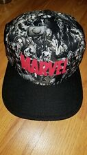 Marvel Allover Print Snapback