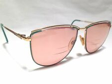 Vintage Marcolin Ashley 532 Womens Gold Rx Designer Eyeglasses Frames 59/15~140