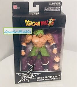 "Dragon Ball Super Dragon Stars Series 12 Super Saiyan BROLY 6"" Figure Brand New"