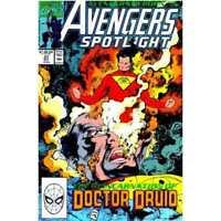 Avengers Spotlight #37 in Near Mint minus condition. Marvel comics [*k0]