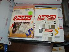 QUICKEN Organizes Finances Painlessly WINDOWS Version 1.01 vintage floppys