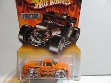 Hot Wheels Fright Cars Orange Chevy S-10 Pickup Truck w/Bling Wheels