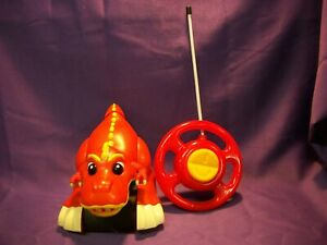 MY FIRST RC DINOS KID GALAXY ANIMATED SPIN & GO RADIO CONTROLLED T-REX DINOSAUR
