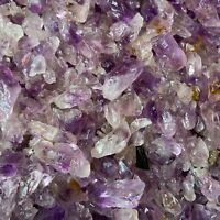 2000 Carat Lots of (SMALL) Amethyst Points -  Plus a FREE Faceted Gemstone