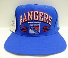 NEW YORK RANGERS NHL HOCKEY SNAPBACK HAT SPIKE CAP 90'S VINTAGE LOGO ATHLETIC
