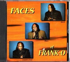 FRANK-O JOHNSON - The Faces of CD (R&B Blues and Country Soul)
