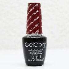 OPI GelColor Soak Off LED/UV Gel Nail Polish 0.5 oz Chick Flick Cherry #GCH02