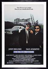 THE BLUES BROTHERS * CineMasterpieces ORIGINAL MOVIE POSTER 1980 JOHN BELUSHI
